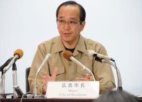 平成26年8月土砂災害対応記者会見